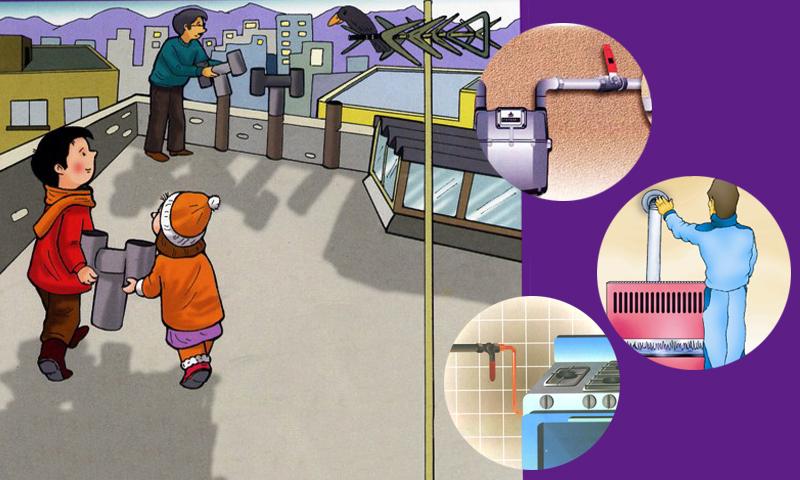 توصیه های ایمنی استفاده از گاز-آگاهی مصرف-درست استفاده کنیم - آموزش همگانی