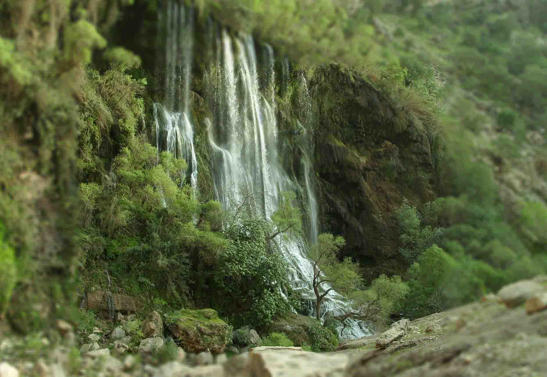 یکصد جاذبه دیدنی در ایران (14)آبشار شِوی-درست مصرف کنیم - آموزش همگانی - آگاهی مصرف