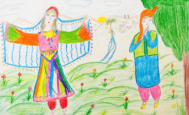 روان شناسی نقاشی کودکان-درست مصرف کنیم - آموزش همگانی - آگاهی مصرف