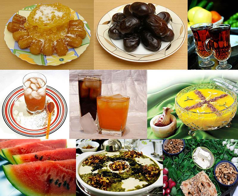 دانستنی هایی در مورد وعده های غذایی ماه مبارک رمضان - پایگاه اینترنتی دانستنی ایران
