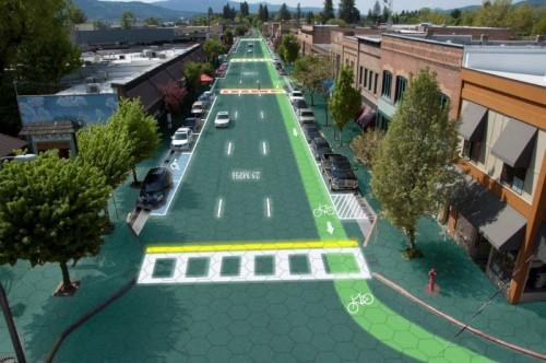 تولید برق با استفاده از جاده های خورشیدی- پایگاه اینترنتی دانستنی ایران