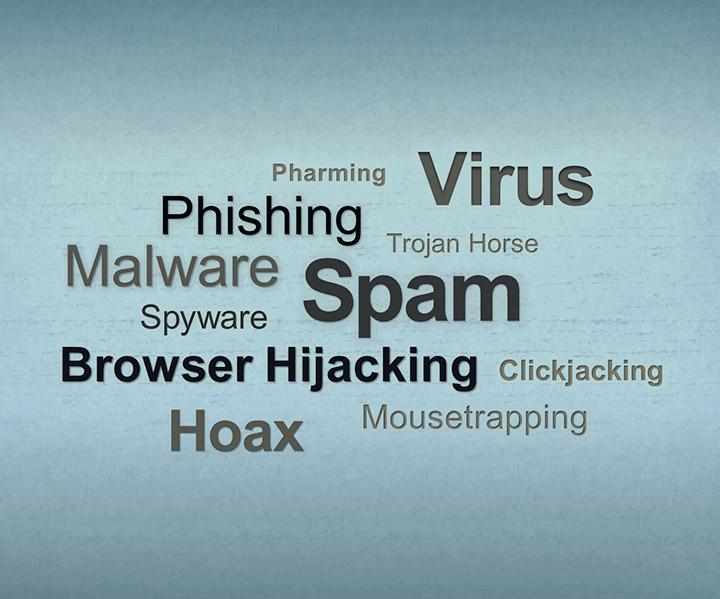 نگران کننده ترین تهدیدات اینترنتی+ اینفوگرافیک- پایگاه دانستنی آنلاین