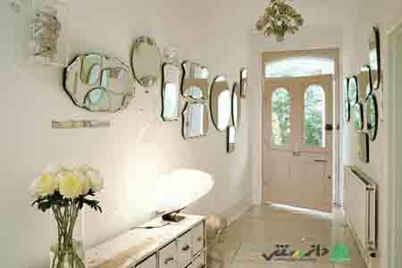 34 ایده به کاربردن آینه در دکوراسیون منزل +ویدئو- پایگاه دانستنی آنلاین