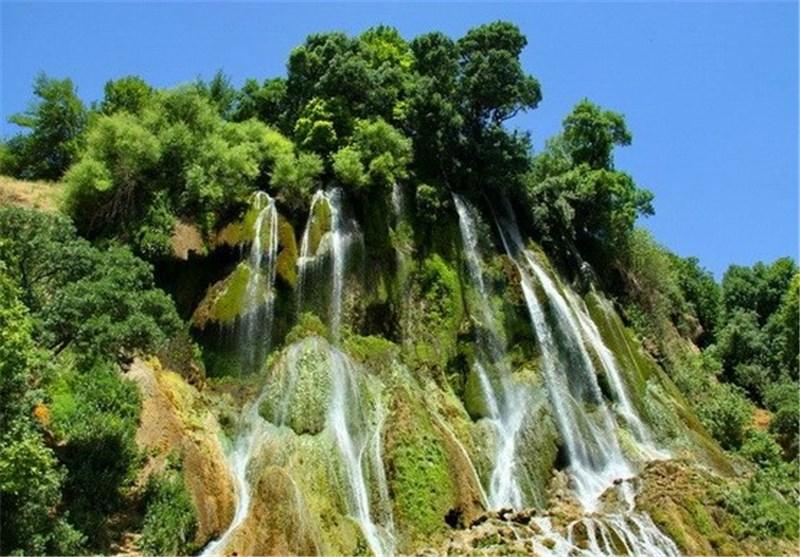 آبشار بیشه لرستان - یکصد جاذبه دیدنی ایران (49)+ویدئو- پایگاه دانستنی آنلاین