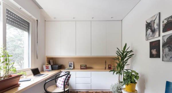دکوراسیون آپارتمان های کوچک برای زوج های جوان +تصاویر