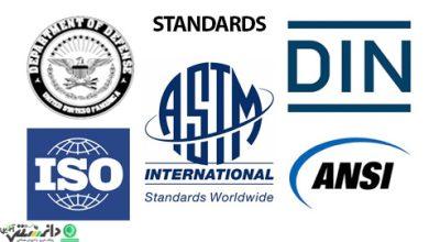 معرفی سیستم های استاندارد مطرح در دنیا