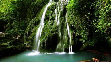 آبشار کبودوال ، آبشار تمام خزهای جهان