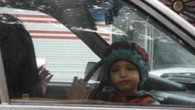 چرا نباید کودکان را در صندلی جلوی خودرو سوار کنیم ؟ ویدئو