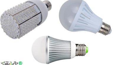 بررسی علمی جایگزینی لامپ های LED به جاي منابع روشنايي متعارف