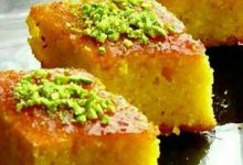 آموزش آشپزی کیک سنتی زعفرانی ایرانی