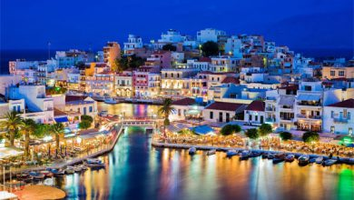 جاذبه های جهانگردی یونان