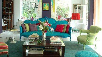 ترکیب رنگ در دکوراسیون داخلی منزل + ویدئو