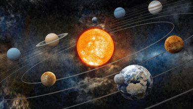 انیمیشن اعجاب انگیز از منظومه شمسی