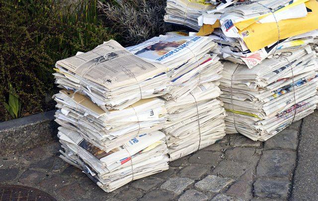 ۱۰ روشِ بازیافت زبالههای کاغذی در خانه