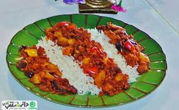 آموزش تهیه سویا پلو با برنج + ویدئو