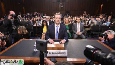 حضور موسس و مدیرعامل فیسبوک در سنای کنگره آمریکا