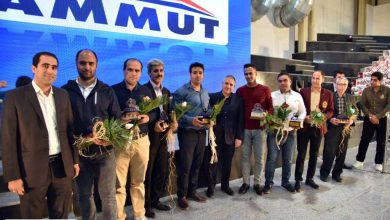 برگزاری مراسم گرامی داشت روز کارگر در گروه صنعتی ماموت