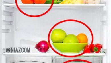 کدام یک از میوه ها و سبزیجات را نباید در یخچال نگهداری کرد ؟