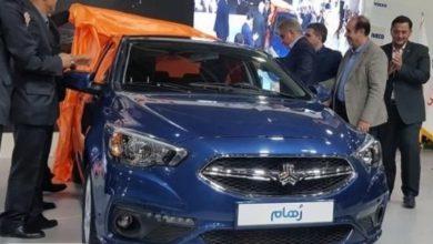 از خودروی جدید ایرانی «رهام» رونمایی شد