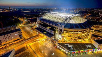 ارتباط جالب نیسان لیف با تامین انرژی استادیوم یوهان کرایوف آمستردام