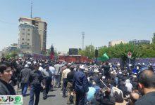 برگزاری مراسم عزاداری سالروز شهادت امام جعفر صادق (ع) در منطقه 5 تهران +تصاویر