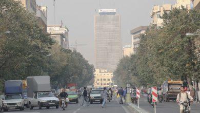 افزایش آلاینده ازن در هوای تهران