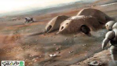 ساخت پایگاهی در مریخ توسط رباتهای کوچک