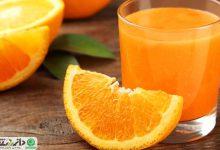 مزایای نوشیدن آب پرتقال