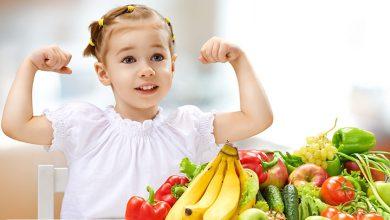 رشد قدی کودکان با تغذیه سالم
