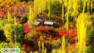 ایرانگردی در پاییز رنگارنگ