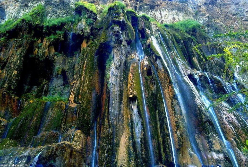 یکصد جاذبه دیدنی ایران (31) آبشار زیبای مارگون- پایگاه اینترنتی دانستنی ایران