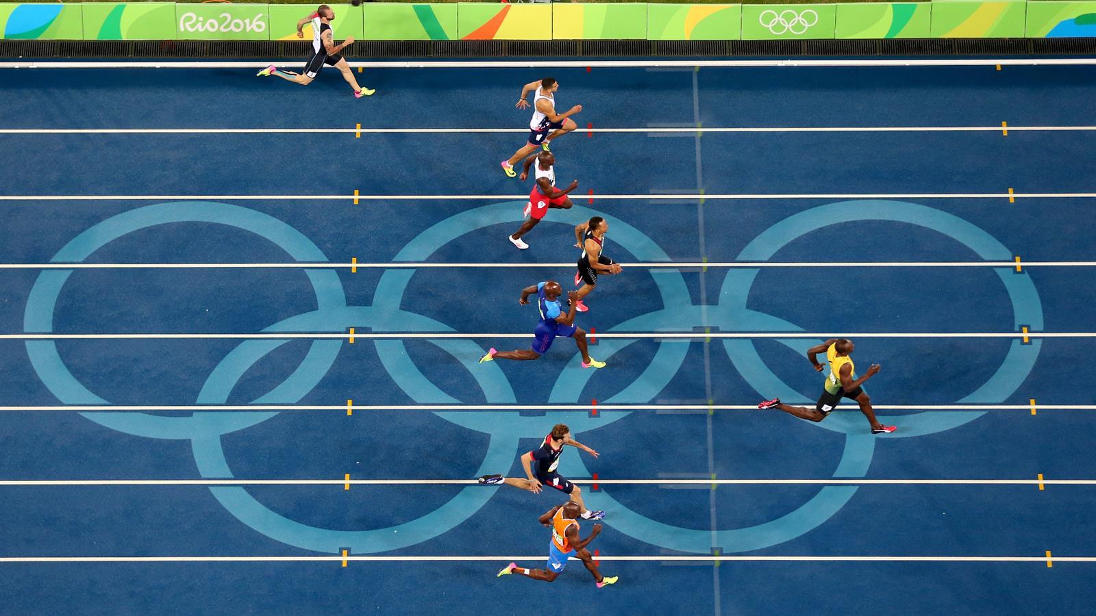 دو صدمتر المپیک ریو