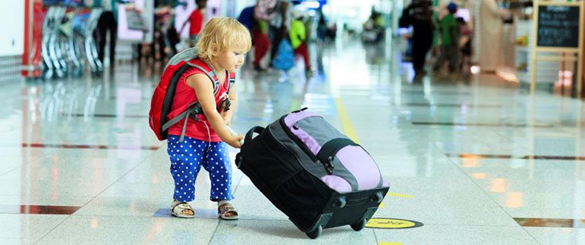 مراقبت از کودکان در سفر - پایگاه دانستنی آنلاین