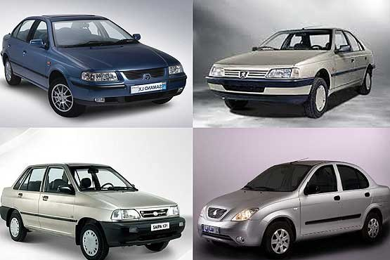 آخرین لیست قیمت انواع اتومبیل های داخلی و خارجی