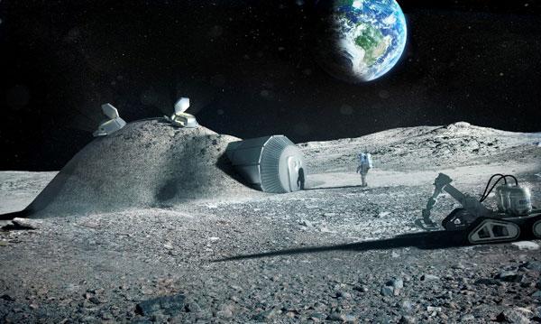 ساخت روستا در ماه توسط چین و اروپا