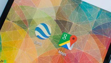 تفاوت های بین گوگل ارث و گوگل مپ