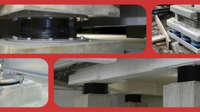 مقاوم سازی ساختمان با جداساز های لرزه ای