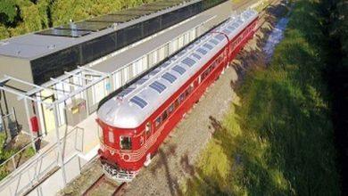 اولین قطار تمام برق خورشیدی جهان به ریل انداخته شد