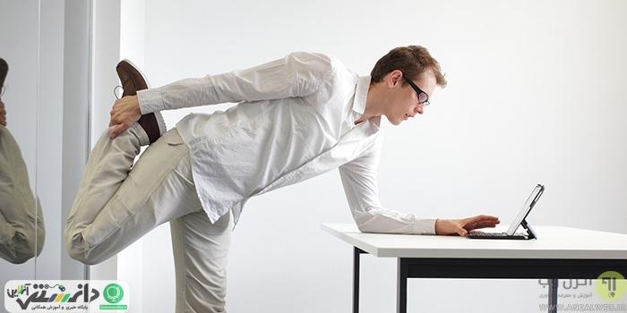ورزش در محل کار + اینفوگرافیک