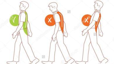 نحوه درست ایستادن، نشستن و راه رفتن