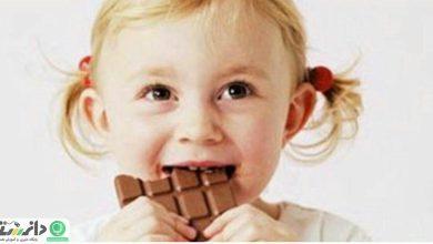 فایده ها و زیان های شیرینی و شکلات برای کودکان