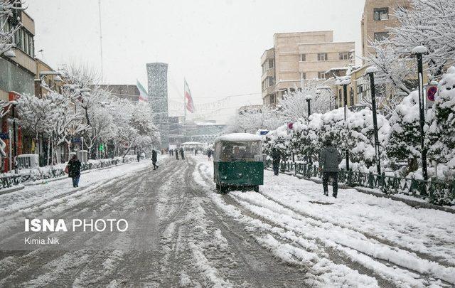 برف تهران تنها ۱۹ درصد کمبودهای بارشی را جبران کرد