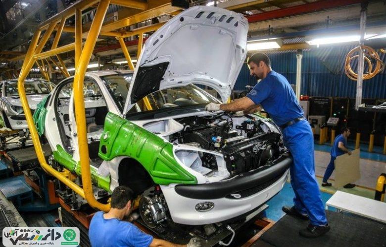 تداوم روند صعودی تولید خودرو