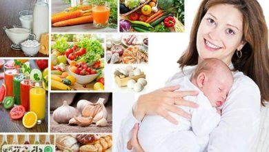 رژیم غذایی برای مادران در زمان شیردهی