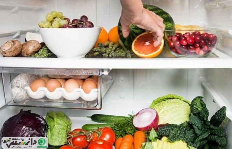 خوراکیهایی که نباید در یخچال نگهداری شوند + اینفوگرافیک