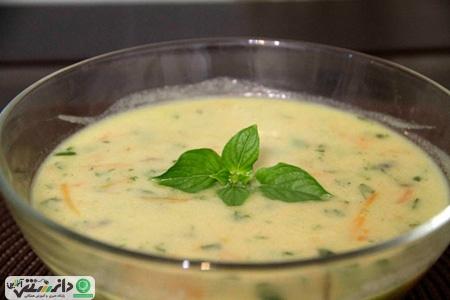در فصل بهار سوپ و آشهای بدون گوشت بخورید