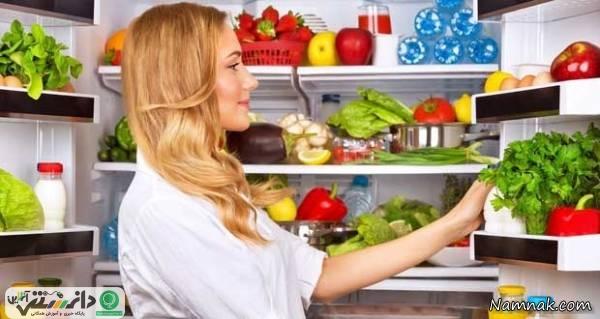 شیوه های مختلف برای نگه داشتن مواد غذایی