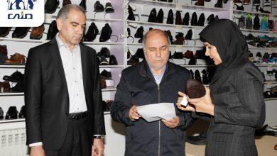 نشست مدیر عامل صندوق بازنشستگی کشوری با کارگران و کارکنان گروه صنعتی کفش ملی