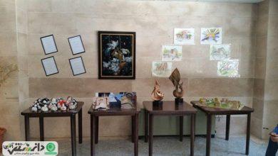 برگزاری نمایشگاه فرهنگی _ هنری در دانشگاه علمی_ کاربردی واحد ۲۶ تهران