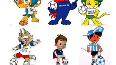نماد های جام جهانی از سال ١٩۶۶ تا ٢٠١٨ به همراه فلسفه آنها